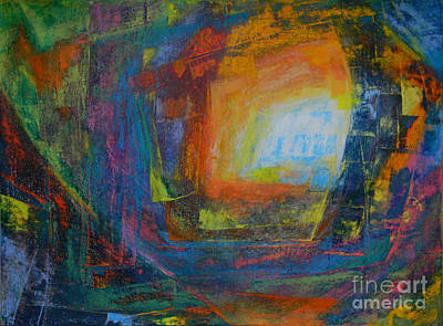 Intuition #2# Art Print by Adel Nemeth