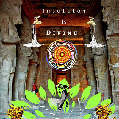 Digital Art - Intuition Is Divine by Steven Brier