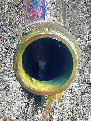 Fire Hydrant Mixed Media - Inturupted by Tony Rubino