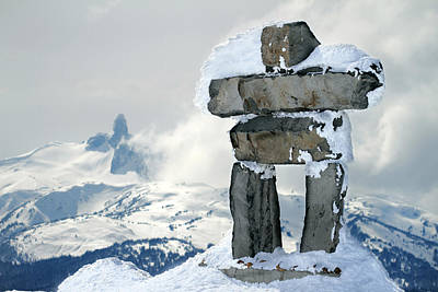 Inukchuk Whistler Art Print by Pierre Leclerc Photography