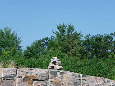 Photograph - Inukshuk 1 by Peggy King