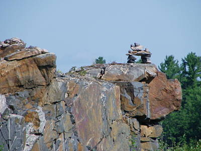 Photograph - Inukshuk 3 by Peggy King