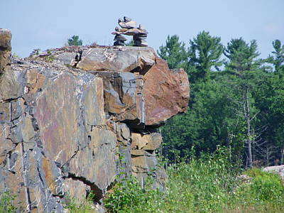 Photograph - Inukshuk 4 by Peggy King