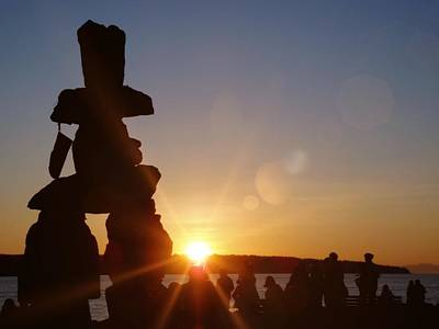 Photograph - Inukshuk by JAMART Photography