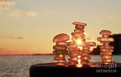 Photograph - Inuksuk With Sunny Heart by Charline Xia