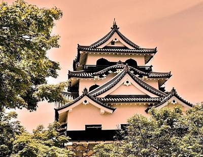 Photograph - Inuyama Castle by Juergen Weiss