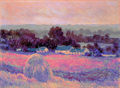 Harvesting Digital Art - Inv Blend 10 Monet by David Bridburg