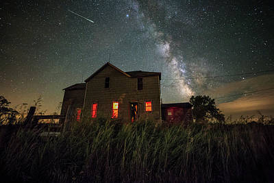 Meteor Photograph - Invasion by Aaron J Groen