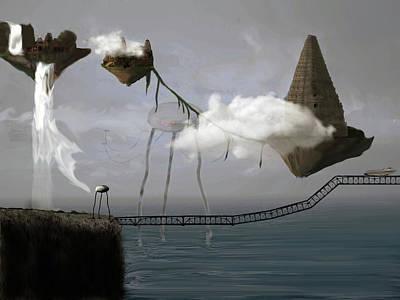 Digital Art - Invasion by Keshava Shukla