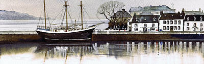 Scotland Painting - Inveraray by Paul Dene Marlor