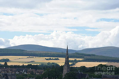 Photograph - Invergordon Scotland And Barley Fields by Tom Wurl