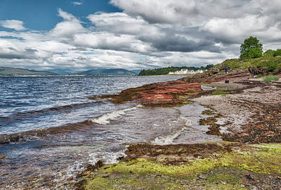 Photograph - Inverkip In Scotland by Jeremy Lavender Photography