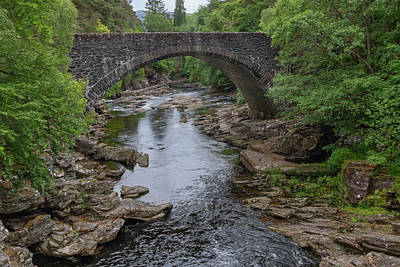 Photograph - Invermoriston Bridge  0473 by Teresa Wilson