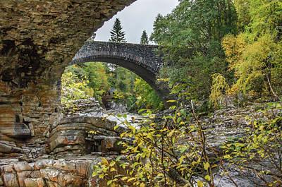 Photograph - Invermorriston Bridge by Adrian O Brien