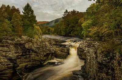 Photograph - Invermorriston Falls by Adrian O Brien