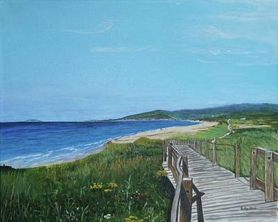 Inverness Beach Art Print by Betty-Anne McDonald