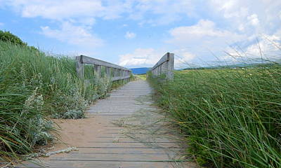 Photograph - Inverness Boardwalk by Betty-Anne McDonald