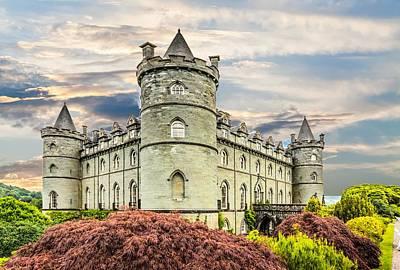 Photograph - Inverrary Castle by Bill Howard