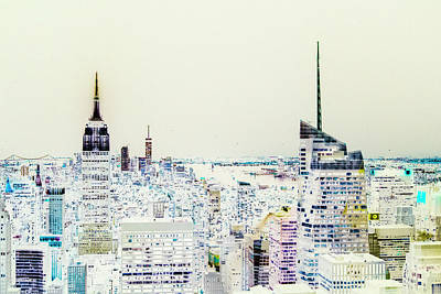 Art Print featuring the photograph Inversion Layer by Alex Lapidus