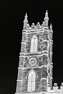 Photograph - Inverted Church Tower by Perggals - Stacey Turner