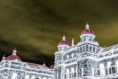 Photograph - Inverted Parliment Building by Perggals - Stacey Turner