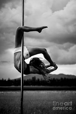 Photograph - Inverted Pole Dance 1 by Scott Sawyer