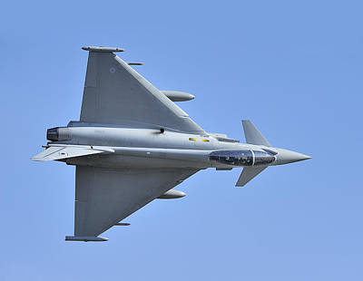 Inverted Typhoon In The Welsh Hills Art Print by Barry Culling