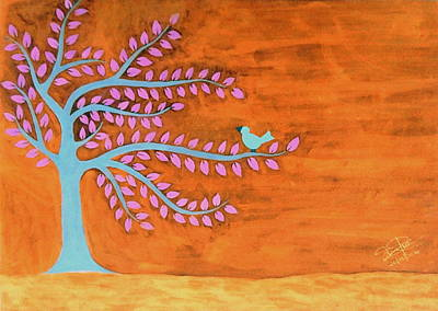 Inverted Painting - Inverted World by Silpa Saseendran
