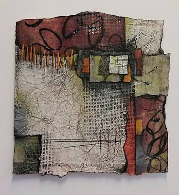 Orange Mixed Media - Invested  by Laura Lein-Svencner