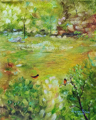 Painting - Invincible Spring by Judith Rhue