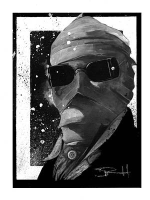 Painting - Invisible Man by Sean Parnell