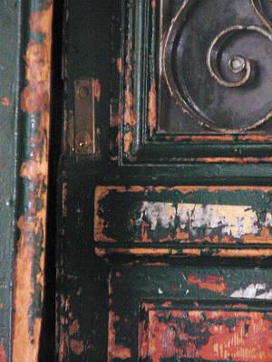 Old Door Photograph - Invitation  by Dagmar Batyahav