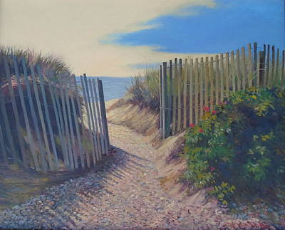 Painting - Invitation by Dianne Panarelli Miller