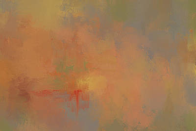 Painting - Invitation To Autumn Abstract Painting by Jai Johnson