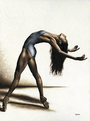 Pointe Painting - Invitation To Dance by Richard Young
