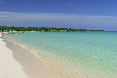 Photograph - Seven Mile Beach, Negril by Debbie Ann Powell