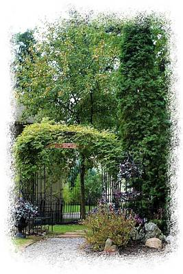 Photograph - Inviting Entrance by Ellen Barron O'Reilly