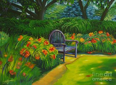 Painting - Inviting by Milagros Palmieri