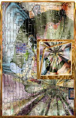 Digital Art - Inw_20a5067_peasantries_profile-left by Kateri Starczewski