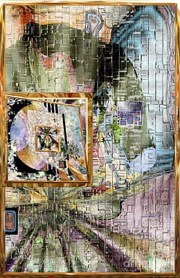 Digital Art - Inw_20a5068_peasantries_profile-right by Kateri Starczewski