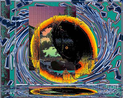 Digital Art - Inw_20a5567_morning-cliffs by Kateri Starczewski