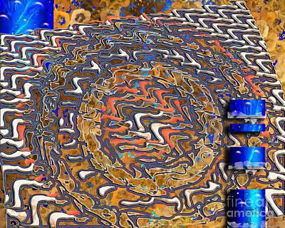 Digital Art - Inw_20a5574_slim-passage by Kateri Starczewski