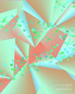 Digital Art - inw_20a6151-MH17 sweet currents by Kateri Starczewski