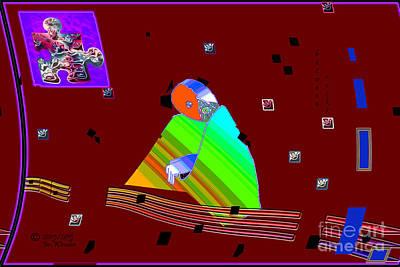 Digital Art - Inw_20a6452_between-rocks by Kateri Starczewski