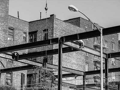 Photograph - Inwood Constuction by Cole Thompson