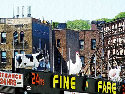 Window Signs Photograph - Inwood Farm by Sarah Loft
