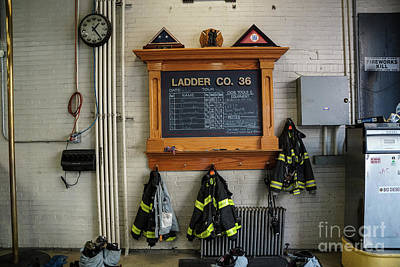 Photograph - Inwood Firehouse by Cole Thompson