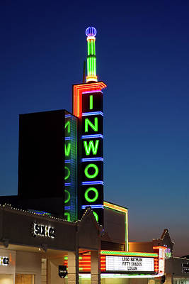 Photograph - Inwood Theater Dallas 31517 by Rospotte Photography