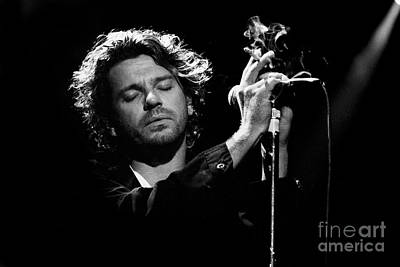 Inxs-94-michael-1339 Art Print by Timothy Bischoff