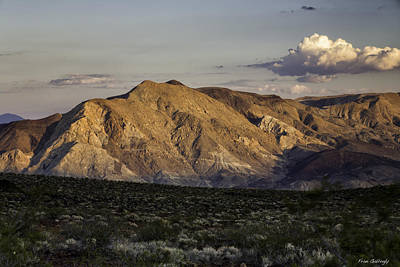 Photograph - Inyo Mountain Sunset by Fran Gallogly